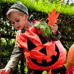 DIY Halloween : DIY Pumpkin Costume