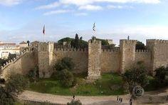 Castelo de São Jorge é o monumento mais visitado de Portugal