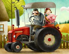"Popatrz na ten projekt w @Behance: ""Tractor"" https://www.behance.net/gallery/14230373/Tractor"