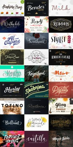 The Colossal Font Bundle: 27 High-Quality Fonts - 99% Off | Pixelo