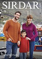Sirdar 8178 Sweaters in Sirdar No. 1 Chunky ( weight) for 4 Years to Adult 4 Years, Detail, Pattern, Sweaters, Style, Fashion, Swag, Moda, Stylus