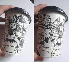 Doodle Cup by DoodleBros.deviantart.com on @deviantART