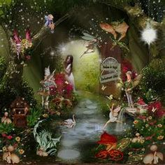 Love this enchanted fairy forest