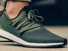 adidas Pure Boost Raw Green More