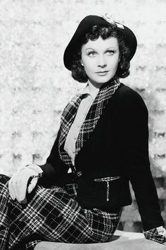 Vivien Leigh photographed for A Yank at Oxford, 1938.