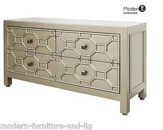 GOLD PATTERNED LOW CHEST OF 4 DRAWERS Product Description This stunning range of…