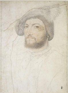 Portrait de Louis de Cleves, comte de Nevers, par Jean Clouet