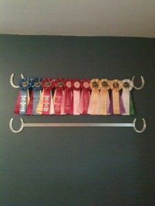 Custom Made Horse Ribbon Display Rack