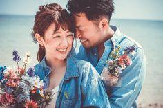 結婚式で可愛い写真を残す、表情・笑顔のレパートリーまとめ | marry[マリー] Wedding Photoshoot, Wedding Pics, Couple Photography, Wedding Photography, Okinawa, Bouquet, Bridal, Couple Photos, Couples