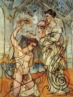 """Craccae"" Francis Picabia 1928 oil on canvas x cm Private Collection Magritte, Action Painting, Painting & Drawing, Figure Painting, Tristan Tzara, Francis Picabia, Max Ernst, Art Database, Art Studies"