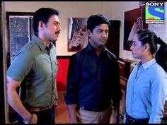 CID: Inspector Sachin, Rajat and Purvi.
