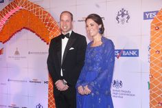 MUMBAI, INDIA - APRIL 10: Prince William, Duke of Cambridge, and Catherine, Duchess Of Cambridge, during Bollywood inspired charity gala dinner at Taj Palace Hotel on April 10, 2016 in Mumbai, India. (Photo by Pramod Thakur/Hindustan Times via Getty Images) via @AOL_Lifestyle Read more: https://www.aol.com/article/entertainment/2017/06/19/prince-william-grenfell-tower-visit/22489423/?a_dgi=aolshare_pinterest#fullscreen
