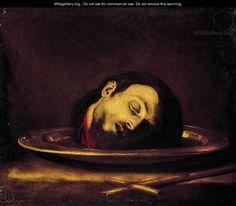The Head of Saint John the Baptist - Jusepe de Ribera - WikiGallery ...