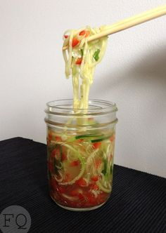 Cup a Zoodle - FoodQuotes Asian Recipes, Healthy Recipes, Paleo Meals, Fodmap, Smoothies, Low Carb, Cooking, Food, Juices