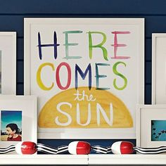 Here Comes The Sun Watercolor Art #pbteen