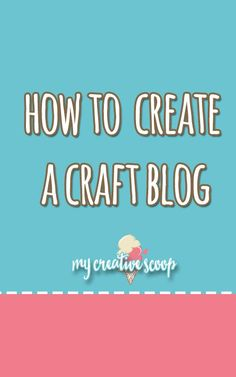 Step by Step on how to Create a Craft Blog, grow your audience and tips to earn some money while doing what you love! Make Easy Money, Make Money Blogging, Blogging Ideas, Creating A Business, Starting A Business, Copic Markers Tutorial, Craft Business, Business Ideas, Craft Online