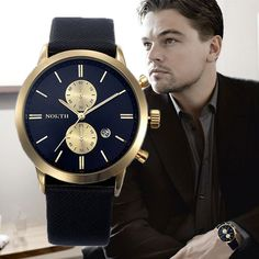 $9.45 (Buy here: https://alitems.com/g/1e8d114494ebda23ff8b16525dc3e8/?i=5&ulp=https%3A%2F%2Fwww.aliexpress.com%2Fitem%2F2015-Top-Fashion-Brand-Men-s-Analog-Military-Watches-Casual-Leather-Strap-Sports-30M-Waterproof-Quartz%2F32537772459.html ) 2016 Mens Watches Top Brand Luxury Quartz  Watch Casual Leather Sports Wrist watch Montre Homme Male Clock relogio masculino for just $9.45