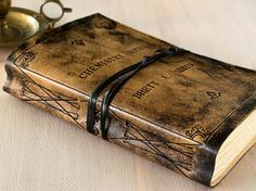 Personalized Leather Journal Custom Leather Sketchbook by codice