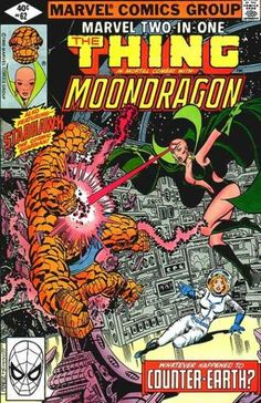 Marvel Two-In-One 62 the Thing Moondragon Marvel comics group
