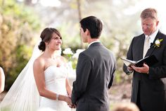 style me pretty - real wedding - usa - california - san diego wedding - ntc promenade at liberty station - bride & groom - ceremony