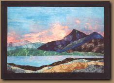 """""""Sunset"""" Quilt Gallery 2 - Ionne McCauley: Teacher, Quilt Artist"""