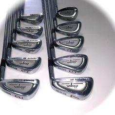 Ben Hogan Edge Forged GS Irons 2 - E Wedge & SW Apex 4 Steel SHAFTS~FT Worth TX #BenHogan