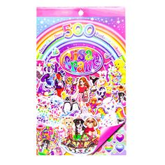 lisa frank® sticker book - lisa frank® - crafts | Five Below