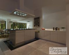 Spacious Open Concept Kitchen At Kew Crescent