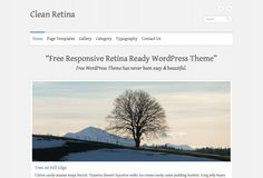 Free Responsive Retina Ready WordPress Theme