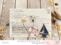#charlieundpaulchen #herzepuenktchen #cardmakingideas #papercrafting #maritime Nautical Cards, Kit, Vintage, Cabin, Windows, Summer, Cards, Vintage Comics