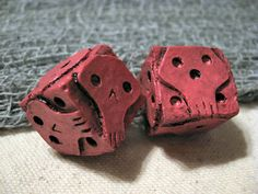 And... yet more skull dice!
