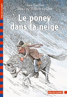 Le poney dans la neige - Folio Cadet - Livres pour enfants et littérature jeunesse - Gallimard Jeunesse