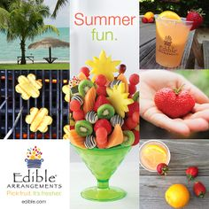 How about a little something sweet for your next cookout? Fruit + Summer = Love.