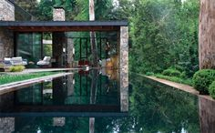Black Forest House in the Hills of Titirangi, New Zealand by Chris Tate
