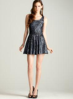 Sequin Fit dress