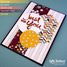 Kylie Bertucci - Sale-a-bration Sneak Peek   Wildflower Fields   Mojo Monday - Click on the picture to see more of Kylie's designs and other sneak peeks #saleabration2015 #stampinup #kyliebertucci #handmadecard #wildflowerfields
