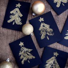 glitter-christmas-tree-cards