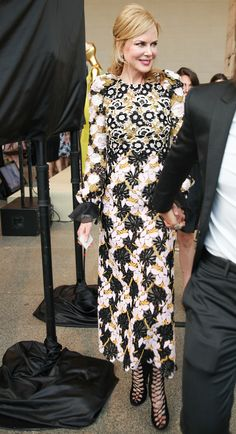 WHO: Nicole Kidman WHAT: Giambattista Valli WHERE: Metropolitan Museum of Art Discussion with Hamish Bowles WHEN: July 20, 2015