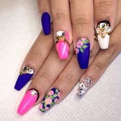 """She's married to the nail game """