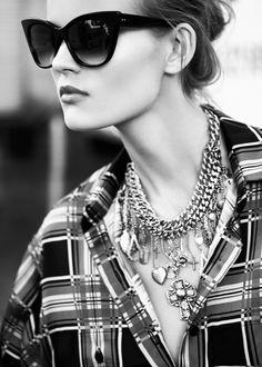 DITA Sunglasses!!  Catwalk to Streetstyle: Kate Grigorieva Poses in FORWARD by Elyse Walker Shoot  