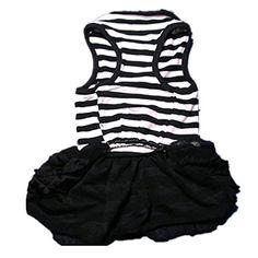 Kingfansion Fashion Dog Apparel Pet Dog Costume Stripe T-... https://www.amazon.com/dp/B01C8KBCHO/ref=cm_sw_r_pi_dp_lSjGxb2E758HD  200 each