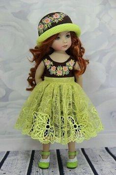 Такими шикарными куклами можно только любоваться.   OK.RU Knitting Dolls Clothes, Ag Doll Clothes, American Doll Clothes, Pretty Dolls, Cute Dolls, Beautiful Dolls, Girl Dolls, Baby Dolls, Dolls Dolls