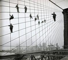 perspective illusions | Big man on a bridge illusion | Mr. Barlow's Blog