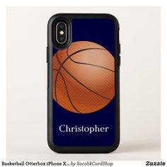 Shop Basketball Otterbox iPhone XS Max Case created by SocolikCardShop. Basketball Design, Cool Gifts, Gifts For Him, Iphone Cases, Typography, Tech, Gift Ideas, Group, Elegant
