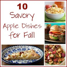 10 Savory Apple Dishes for Fall - TABLE for SEVEN