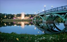В Царицынском парке - In the park Tzaritsino  Moscow  Russia