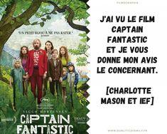 J'ai vu Captain Fantastic [charlotte mason et IEF] Captain Fantastic, Charlotte Mason, Film, Movie Posters, Being A Mom, The Visitors, Movies, Film Stock, Film Movie