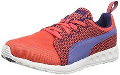 Puma Women's Carson Runner Knit Running Shoes Red US 8.5 - http://all-shoes-online.com/puma/puma-womens-carson-runner-knit-running-shoes-red-8