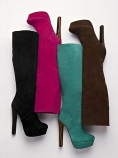 Colin Stuart  Suede Slouch Boot