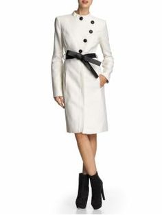 love it! Cheryl Asymmetrical Coat... this ALMOST makes me want winter now... almost